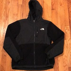 The North Face Fleece Denali Jacket Size M- Black